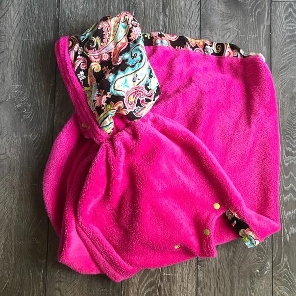 Toddler Car Seat Blanket Jacket